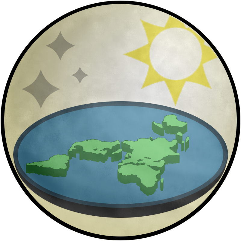 """Flat Earth Society logo"""